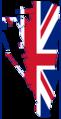 Flag Map of Gibraltar (United Kingdom).png