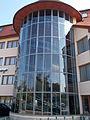 Flamingo Wellness and Conference Hotel. Staircase. - Balatonfüred, Hungary.JPG