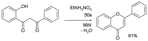 Flavone synthesis from 1,3-ketones