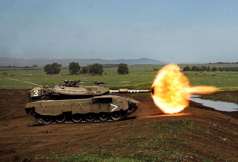 اعرف عدوك وعلم عليه :) 800px-Flickr_-_Israel_Defense_Forces_-_188th_Brigade_Training_Day,_March_2008-cropped