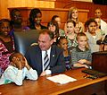 Flickr - The U.S. Army - Virginia Governor Tim Kaine and Army children.jpg