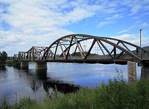 Flisa (river) - Flisa Bridge