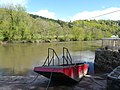 Flood damaged ferry at Symond's Yat West. - panoramio.jpg