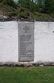 Flossenbürg April 9 1945 Memorial