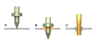 Friction drilling