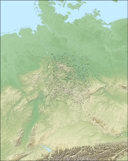 Flussgebietskarte Deutschland