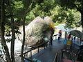 Flying stone in Xiaowulai.JPG
