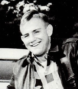 James as a college student, c. 1956 Fob James.jpg