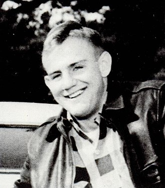 Fob James - James as a college student, c. 1956