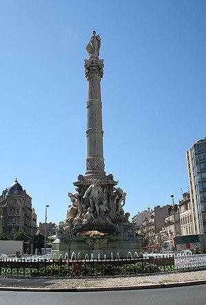 André-Joseph Allar - Image: Fontaine de la place Castellane à Marseille 2