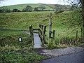 Footbridge on the Pendle Way - geograph.org.uk - 622729.jpg