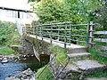 Footbridge over Nedd Fechan - geograph.org.uk - 537335.jpg