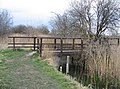 Footbridge over drainage channel - geograph.org.uk - 745061.jpg