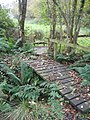 Footbridges over stream - geograph.org.uk - 1574189.jpg