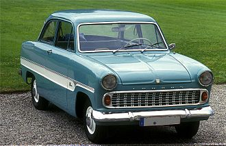 Ford Taunus - Ford Taunus 12M 1959–1962