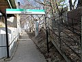 Former staircase at Eliot station, March 2016.JPG