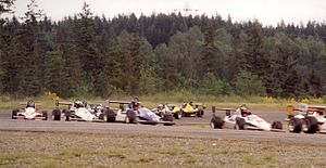 Formula Mazda - Large, close fields are common in Formula Mazda racing