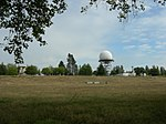 Radar Building and Antenna Dome
