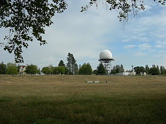Fort Lawton - Radar Building and Antenna Dome