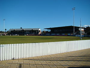 Norwood–Port Adelaide rivalry - Image: Fos Williams Stand