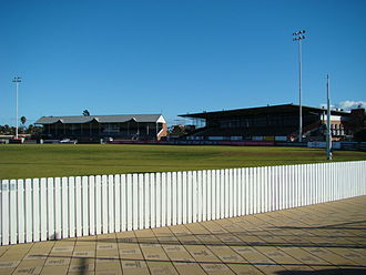 Alberton Oval - Image: Fos Williams Stand