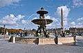 Fountains in the Place de la Concorde 1, Paris 2011.jpg