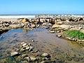 Foz do rio do Cuco na praia de Ribeira d'Ilhas - Portugal (2038297546).jpg