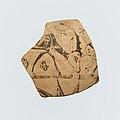 Fragment of a terracotta oinochoe (jug) MET DP114694.jpg