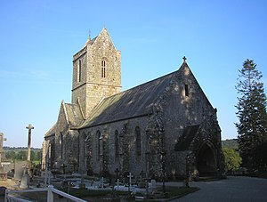 FranceNormandieLaLandeDAirouEglise.jpg
