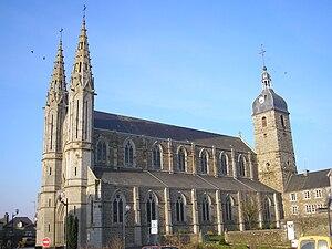 Vue de l'église Saint-Jacques.