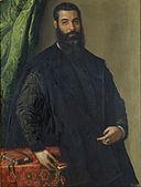 Francesco Salviati (Francesco de' Rossi) - Portrait of a Man - Google Art Project.jpg