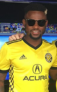 Francis Waylon Columbus Crew SC Meet the Team 2017 (cropped).jpg