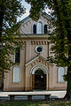 Franciscan monastery church on the Vistula River.jpg