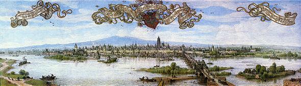 Frankfurt Am Main-Peter Becker-Frankfurt Am Main zu Anfang des 17 Jahrhunderts-1887.jpg