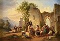 Franz Knebel Künstler bei einem Fest in der Campagna 1830.jpg