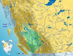 Fraser River watershed