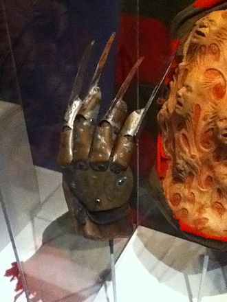 "Freddy Krueger - Freddy Krueger ""Dream Master"" claw used in the 4th installment of A Nightmare on Elm Street"