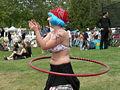 Fremont Solstice Parade 2007 - hula hoops at Gasworks 15-4.jpg