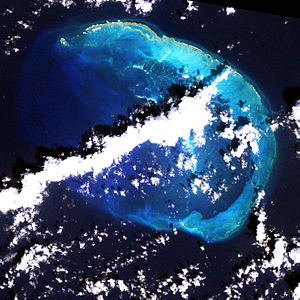 NASA-Bild der French Frigate Shoals