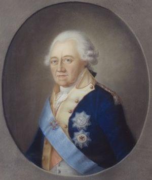 Frederick II Eugene, Duke of Württemberg - Portrait by Johann Friedrich Carl Kreul