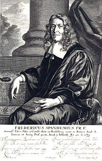 Friedrich Spanheim the Younger Calvinist theologian