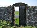 Friends Burial Ground, Allonby, Doorway - geograph.org.uk - 598273.jpg
