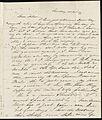 From Caroline Weston to Deborah Weston; 1840? p1.jpg