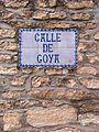 Fuendetodos (Aragón, España) - Población Natal de Goya 01.jpg