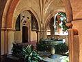 Fuente del claustro mudéjar del Real Monasterio de Santa María de Guadalupe.JPG