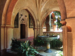Monastery of Santa María de Guadalupe - Mudéjar fountain
