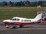 G-BRPK Piper Cherokee 28 (35449885711).jpg