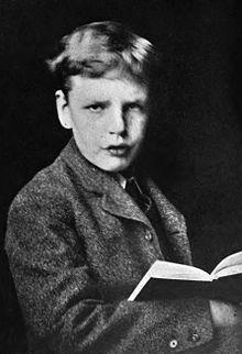Gilbert all'età di 13 anni.