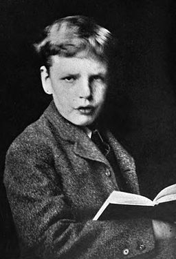 G. K. Chesterton at the age of 13