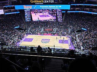 Golden 1 Center - Inside of Golden 1 Center during a Kings' game